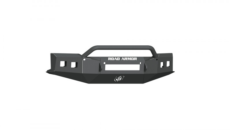 Road Armor Stealth Front Non-Winch Bumper w/ Pre-Runner Guard - Texture Black (19-20 Chevy 1500)