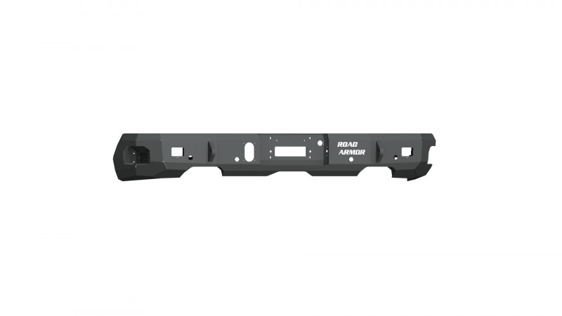 Road Armor Stealth Rear Winch Bumper - Texture Black   WARN M8000 ONLY (19-20 Chevy/GMC 1500)