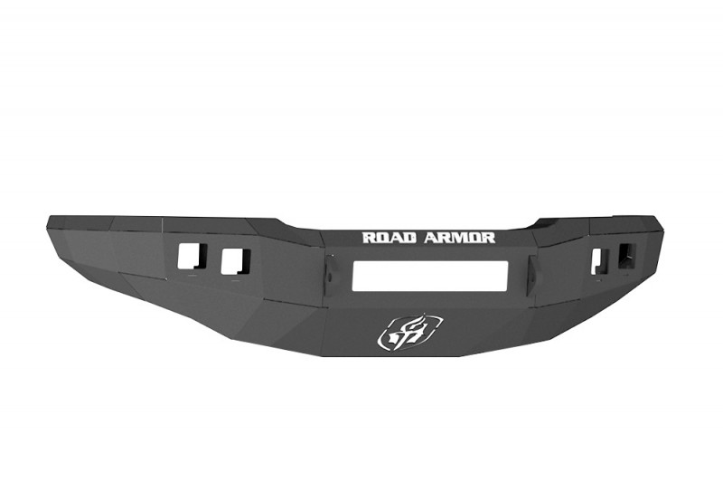 Road Armor Stealth Front Non-Winch Bumper - Texture Black (03-07 Chevy 2500/3500)