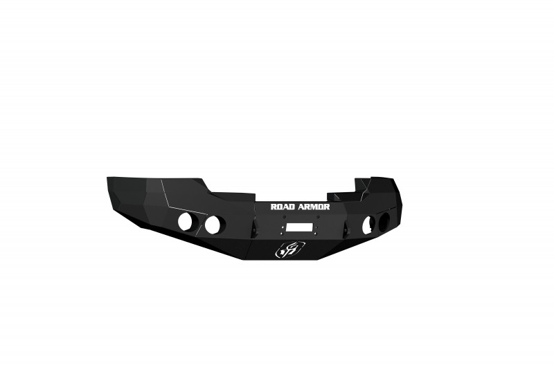 Road Armor Stealth Front Winch Bumper - Texture Black   WARN M12000/Smittybilt XRC (08-13 GMC 1500)