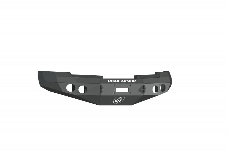 Road Armor Stealth Front Winch Bumper - Texture Black | WARN M12000/Smittybilt XRC (08-13 Chevy 1500)