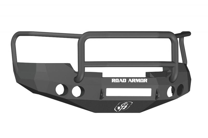 Road Armor Stealth Front Non-Winch Bumper w/ Lonestar Guard - Texture Black (08-13 Chevy 1500)