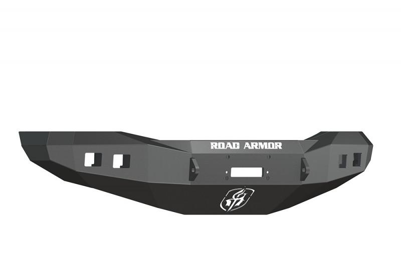 Road Armor Stealth Front Winch Bumper - Texture Black   WARN M12000/Smittybilt XRC (06-09 Ram 2500/3500)