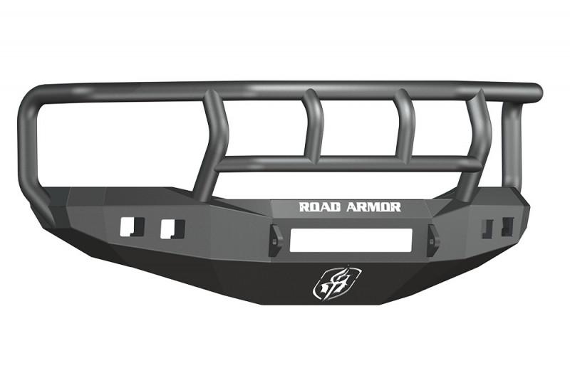 Road Armor Stealth Front Non-Winch Bumper w/ Titan II Guard - Texture Black (06-09 Ram 2500/3500)