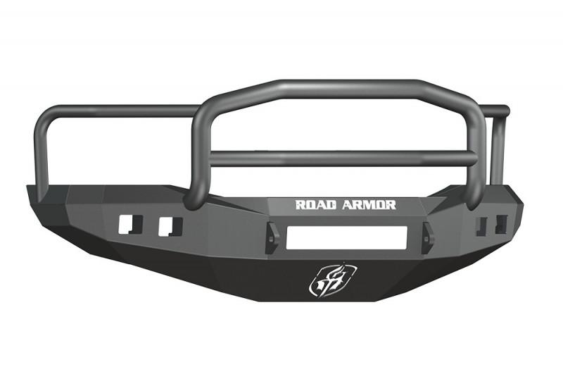 Road Armor Stealth Front Non-Winch Bumper w/ Lonestar Guard - Texture Black (06-09 Ram 2500/3500)
