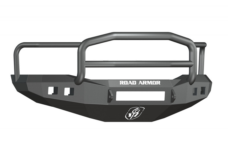 Road Armor Stealth Front Non-Winch Bumper w/ Lonestar Guard - Texture Black (06-08 Ram 1500)