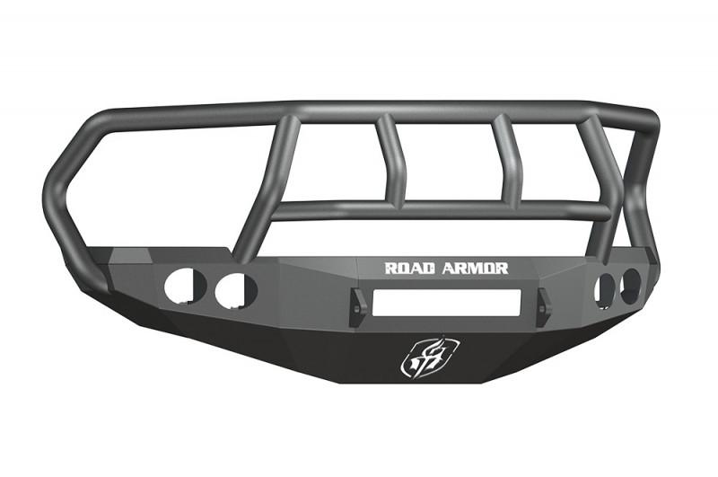 Road Armor Stealth Front Non-Winch Bumper w/ Titan II Guard - Texture Black (10-18 Ram 2500/3500)