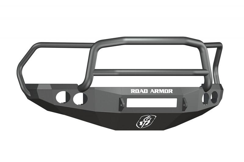 Road Armor Stealth Front Non-Winch Bumper w/ Lonestar Guard - Texture Black (10-18 Ram 2500/3500)