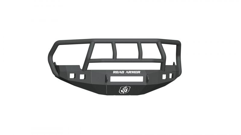 Road Armor Stealth Front Non-Winch Bumper w/ Titan II Guard - Texture Black (09-12 Ram 1500)