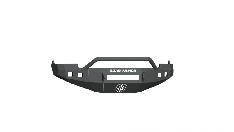 Road Armor Stealth Front Non-Winch Bumper w/ Pre-Runner Guard - Texture Black (09-12 Ram 1500)