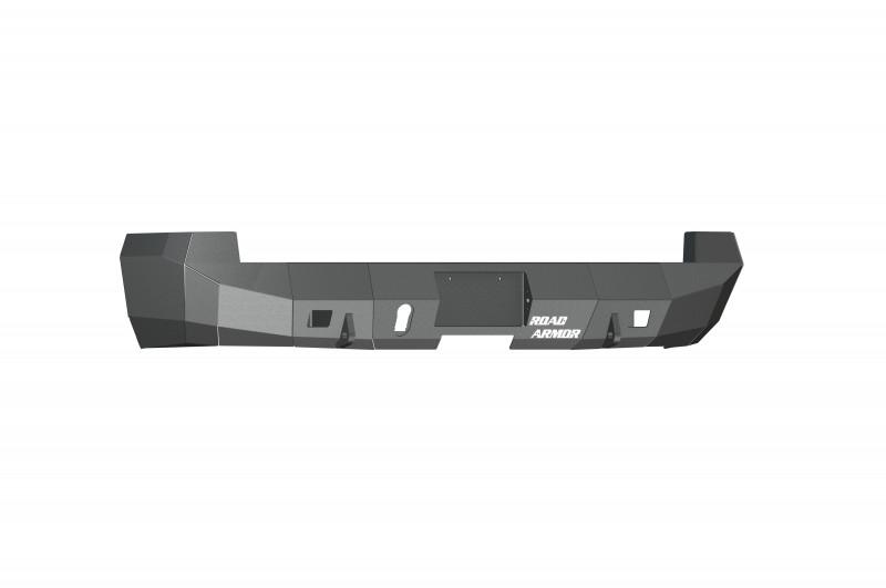 Road Armor  Stealth Rear Winch Bumper - Texture Black | WARN M8000 Only (10-18 Ram 2500/3500)