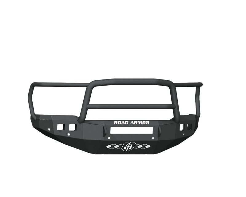 Road Armor Stealth Front Non-Winch Bumper w/ Lonestar Guard & 6 Sensor Holes - Texture Black (19-20 Ram 2500/3500)