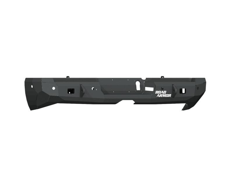 Road Armor Stealth Rear Non-Winch Bumper - Texture Black   WARN (19-20 Ram 2500/3500)