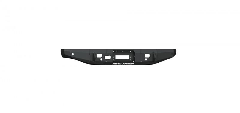Road Armor Stealth Rear Winch Bumper, 9500lb Remote Winch - Texture Black (20 Jeep Gladiator JT)