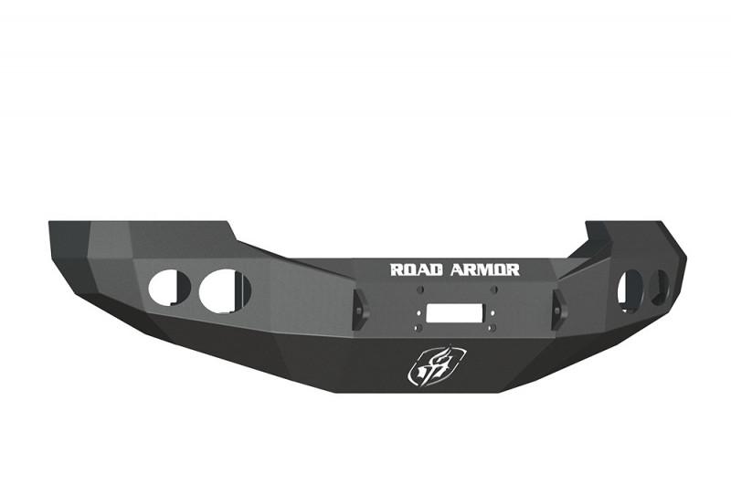 Road Armor Stealth Front Winch Bumper - Texture Black | WARN 16.5ti (05-07 Ford F-250/F-350/Excursion)
