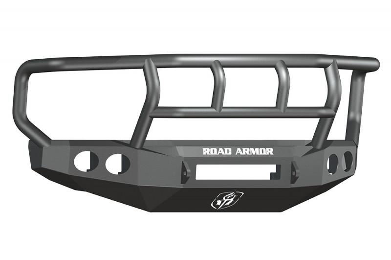 Road Armor Stealth Front Non-Winch Bumper w/ Titan II GuardWide Flare - Texture Black (08-10 Ford F-250/F-350)