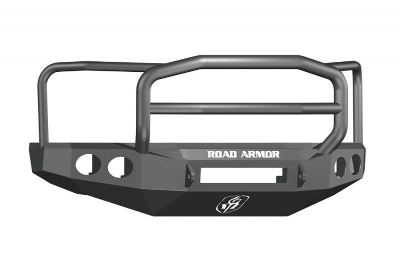 Road Armor Stealth Front Non-Winch Bumper w/ Lonestar Guard - Texture Black (08-10 Ford F-250/F-350)