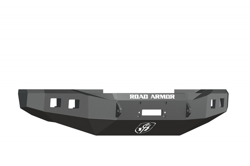 Road Armor Stealth Front Winch Bumper - Texture Black | WARN 16.5ti (08-10 Ford F-250/F-350)