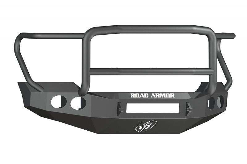 Road Armor Stealth Front Non-Winch Bumper w/ Lonestar Guard - Texture Black (11-16 Ford F-250/F-350)