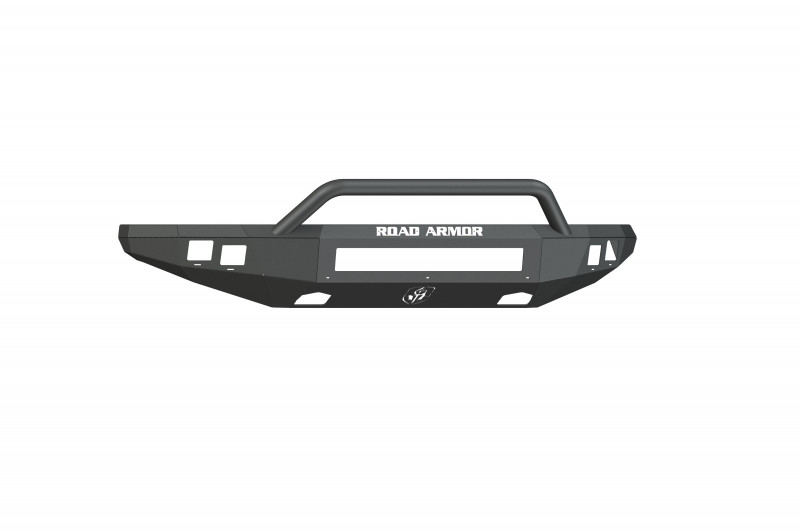 Road Armor Stealth Front Non-Winch Bumper w/ Pre-Runner Guard - Texture Black (10-14 Ford F-150 Raptor)