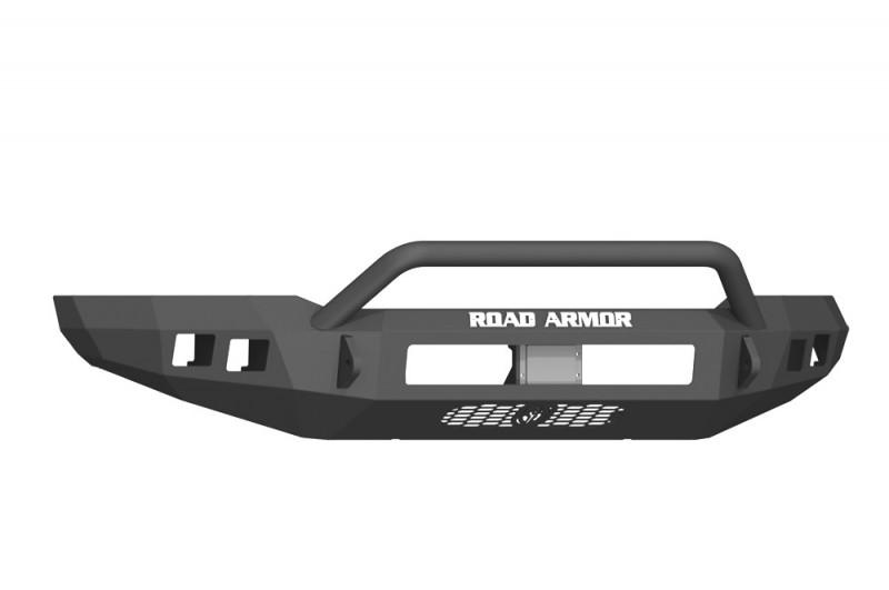 Road Armor Stealth Front Non-Winch Bumper w/ Pre-Runner Guard - Texture Black (17-20 Ford F-150 Raptor)