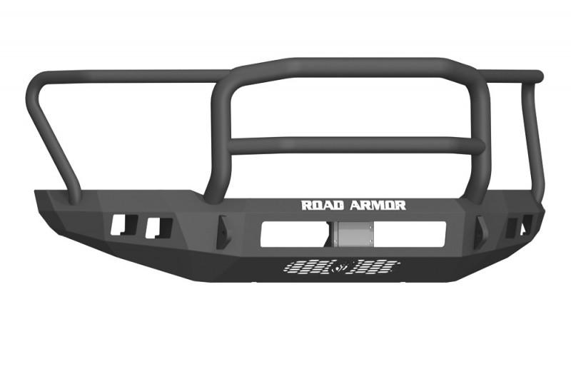 Road Armor Stealth Front Non-Winch Bumper w/ Lonestar Guard - Texture Black (17-20 Ford F-150 Raptor)
