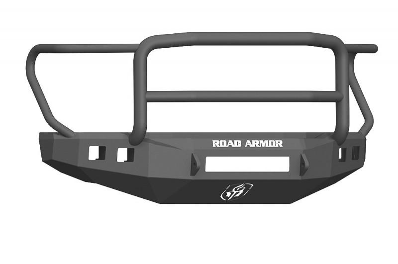 Road Armor Stealth Front Non-Winch Bumper w/ Lonestar Guard - Texture Black (17-20 Ford F-250/F-350)