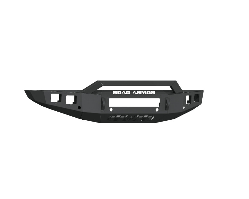 Road Armor Stealth Front Non-Winch Bumper Sheet Metal w/ Pre-Runner Guard - Texture Black (19-20 Ford Ranger)
