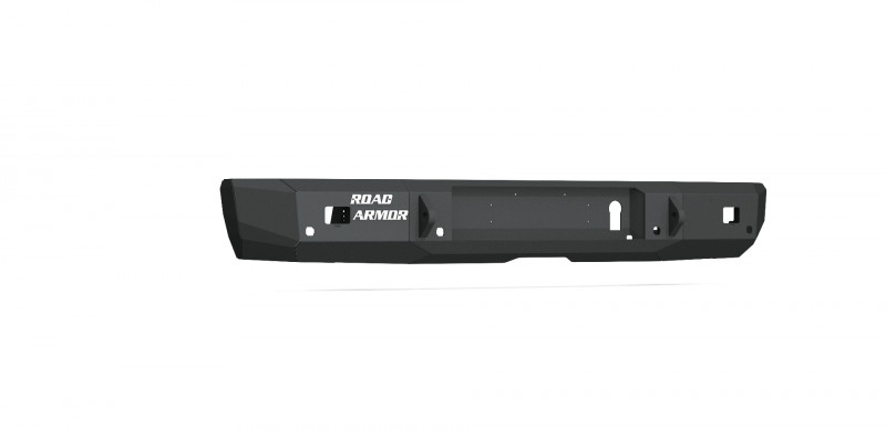 Road Armor Stealth Rear Non-Winch Bumper - Texture Black (16-19 Nissan Titan/Titan XD)
