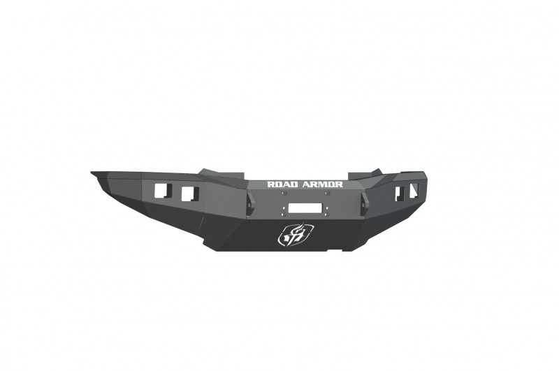 Road Armor Stealth Front Winch Bumper - Texture Black | WARN M8000 or 9.5xp (12-15 Toyota Tacoma)