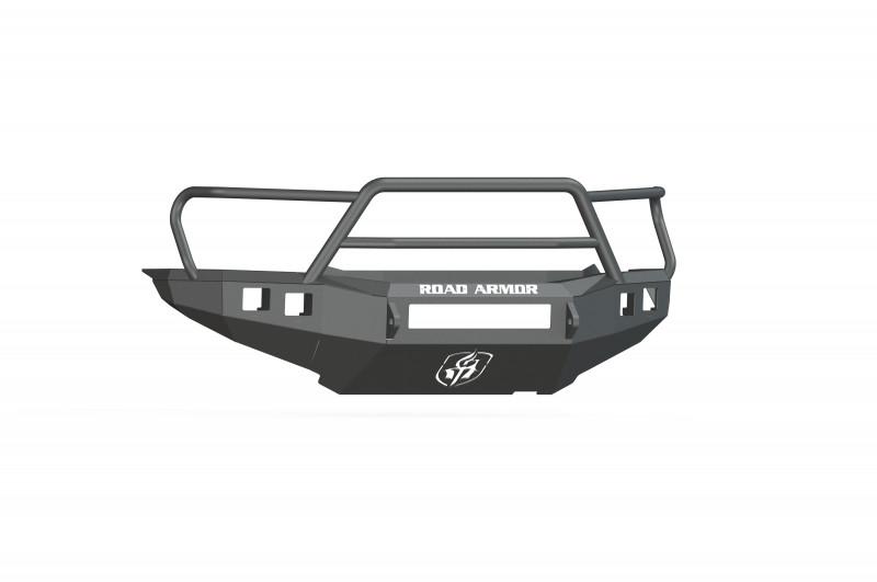 Road Armor Stealth Front Non-Winch Bumper w/ Lonestar Guard - Texture Black (12-15 Toyota Tacoma)