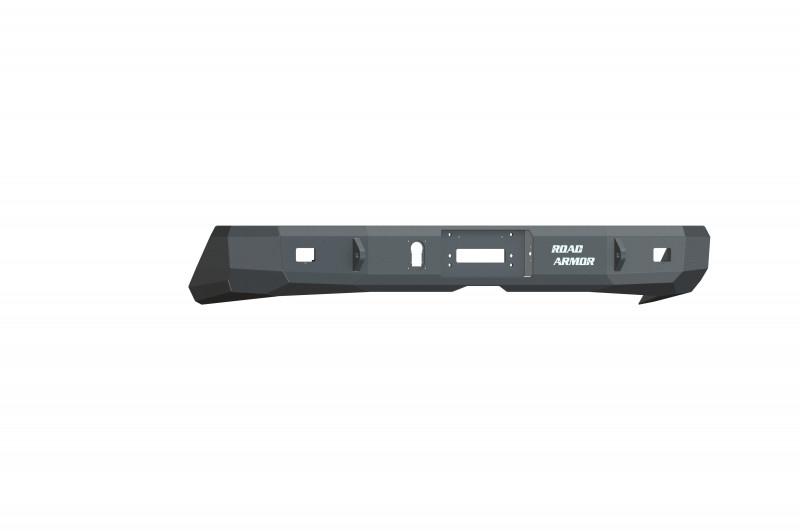 Road Armor Stealth Rear Winch Bumper - Texture Black   WARN M8000 or 9.5xp (14-20 Toyota Tundra)