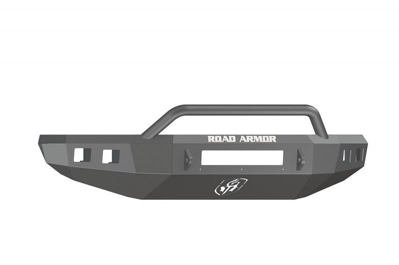 Road Armor Stealth Front Non-Winch Bumper w/ Pre-Runner Guard - Texture Black (14-20 Toyota Tundra)