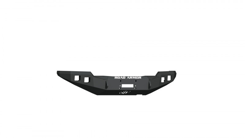 Road Armor Stealth Front Winch Bumper - Texture Black | WARN M8000 or 9.5xp (16-20 Toyota Tacoma)