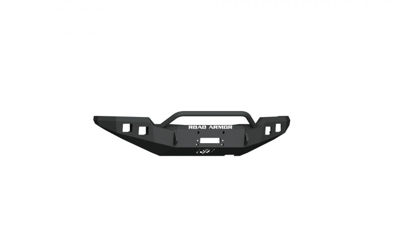 Road Armor Stealth Front Winch Bumper w/ Pre-Runner Guard - Texture Black   WARN M8000 or 9.5xp (16-20 Toyota Tacoma)