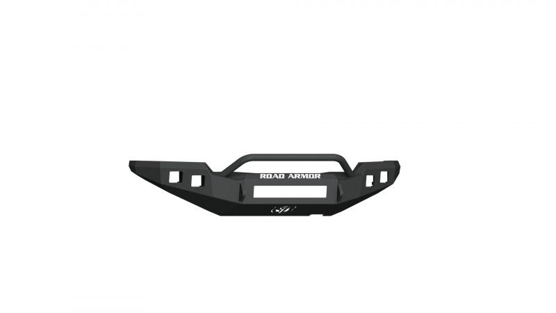 Road Armor Stealth Front Non-Winch Bumper w/ Pre-Runner Guard - Texture Black (16-20 Toyota Tacoma)
