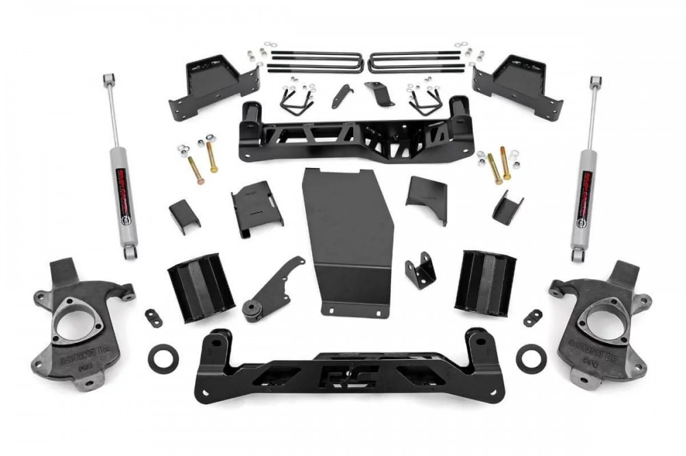 "Rough Country 7"" Suspension Lift Kit 
