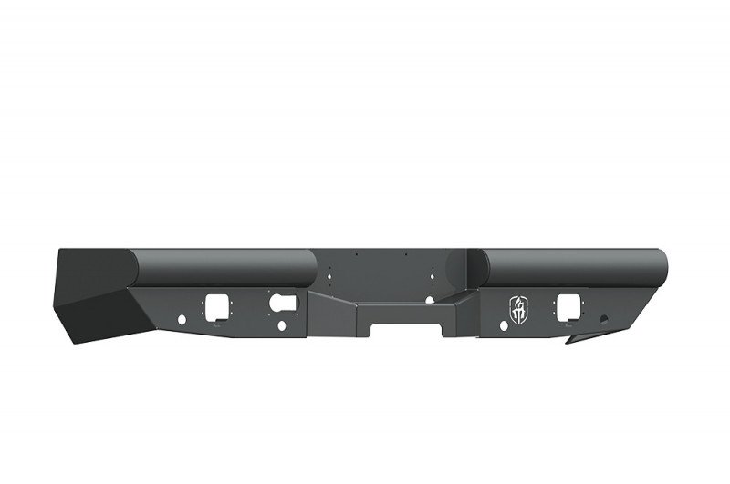 Road Armor Vaquero Rear Non-Winch Bumper - Texture Black (2010-2018 Ram 2500/3500)