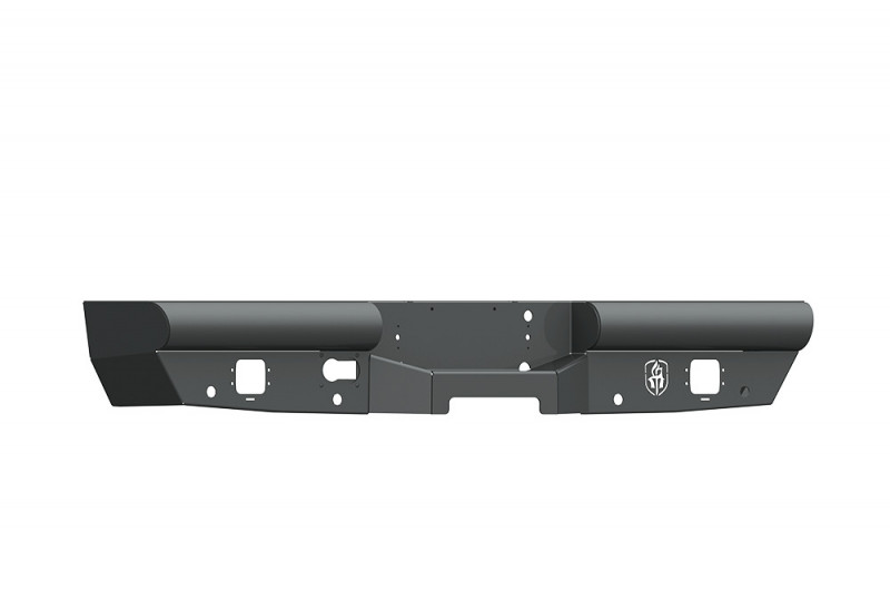 Road Armor Vaquero Rear Non-Winch Bumper - Texture Black (2015-2019 Chevy 2500/3500)