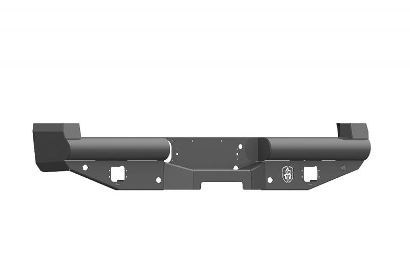 Road Armor Vaquero Rear Non-Winch Bumper - Texture Black (2017-2020 Ford F-250/F-350)
