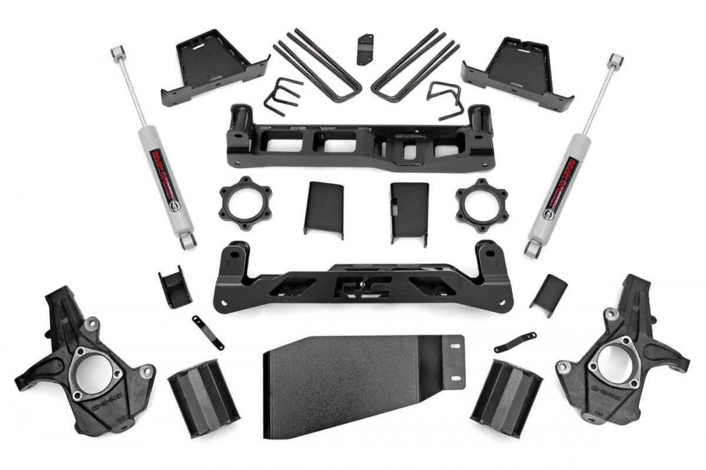 "Rough Country 7.5"" GM Suspension Lift Kit - 4WD"