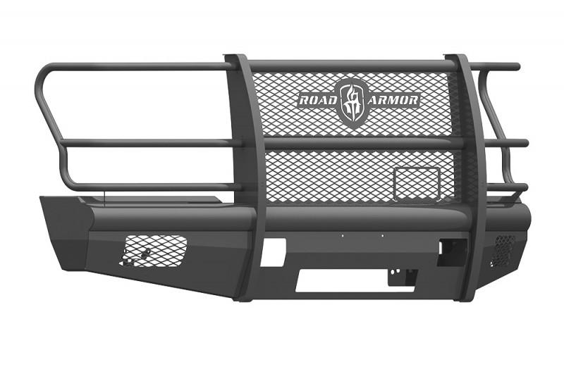 Road Armor Vaquero Front Non-Winch Bumper w/ Full Guard - Texture Black (2017-2020 Ford F-250/F-350)