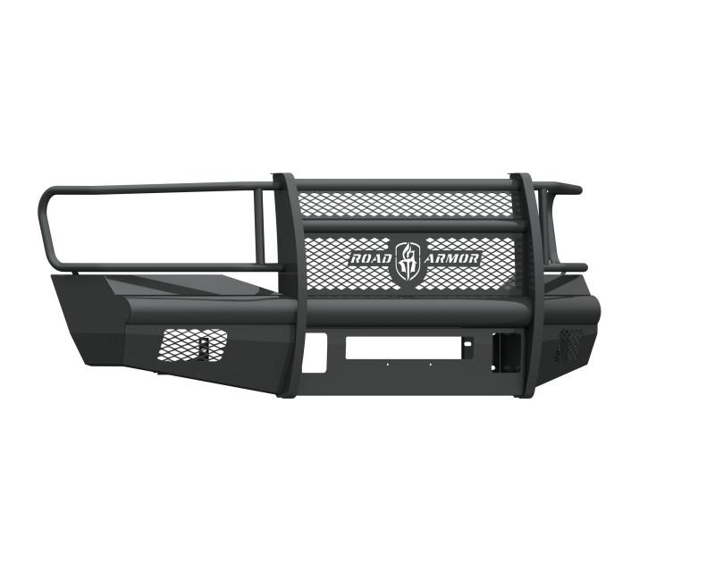 Road Armor Vaquero Front Non-Winch Bumper w/ Full Guard - Texture Black (2006-2009 Ram 2500/3500)