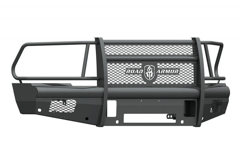 Road Armor Vaquero Front Non-Winch Bumper w/ Full Guard - Texture Black (2010-2018 Ram 2500/3500)