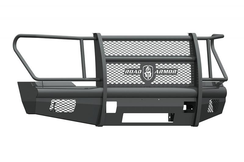Road Armor Vaquero Front Non-Winch Bumper w/ Full Guard - Texture Black (2011-2016 Ford F-250/F-350)