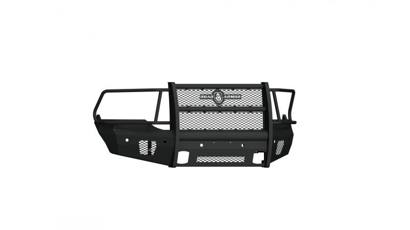 Road Armor Vaquero Front Non-Winch Bumper w/ Full Guard - Texture Black (2013-2018 Ram 1500)