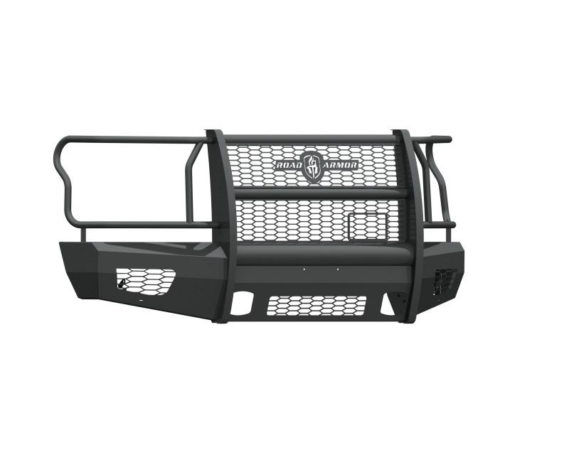 Road Armor Vaquero Front Non-Winch Bumper w/ Full Guard - Texture Black (2015-2017 Ford F-150)
