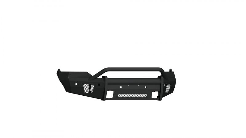 Road Armor Vaquero Front Non-Winch Bumper w/ Pre-Runner Guard - Texture Black (2013-2018 Ram 1500)