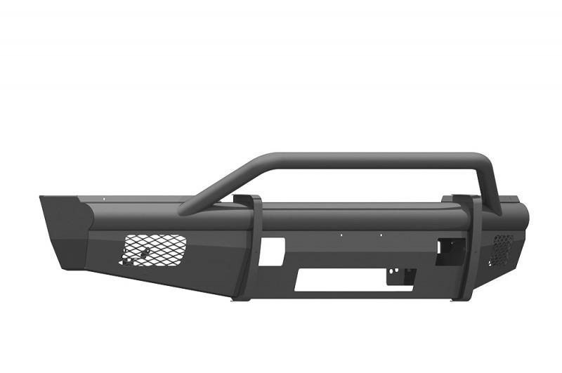 Road Armor Vaquero Front Non-Winch Bumper w/ Pre-Runner Guard - Texture Black (2017-2020 Ford F-250/F-350)