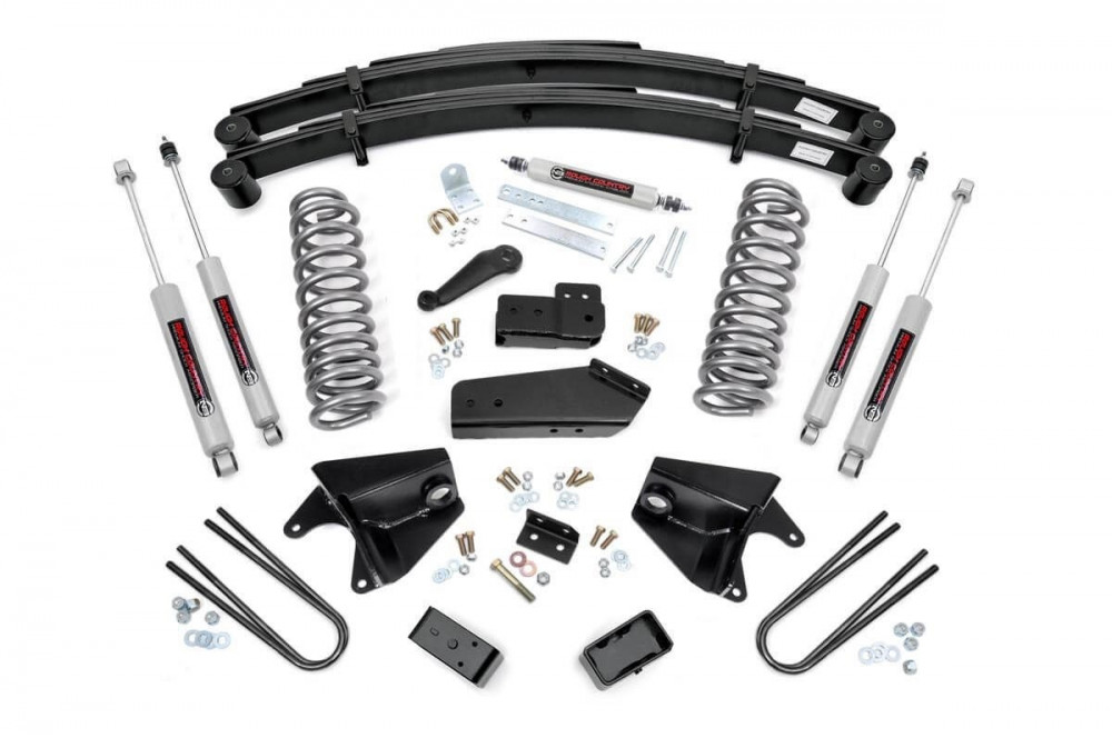 """Rough Country 6"""" Ford Suspension Lift Kit (80-96 F-150/Bronco 4WD)"""